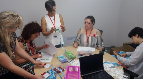 Working at the conference (with the rest of volunteer board!) was another lovely experience of community.